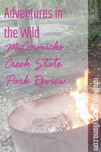 Hitting the road again for another camping adventure! This time it is a McCormicks Creek State Park review from the perspective of a mama and a small child.
