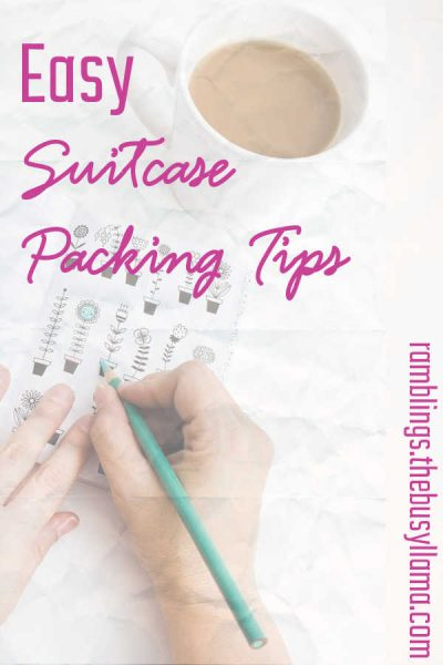 Check out some quick and easy suitcase packing tips to get you ready for your next trip! Getting ready to travel should not be a hassle! Ready to learn them?