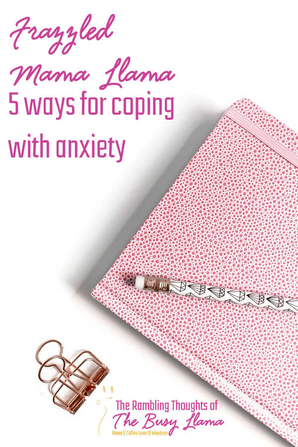 As more of us start to feel anxious in life I thought it would be a great time to talk about 5 ways of coping with anxiety in a healthy, inexpensive way.