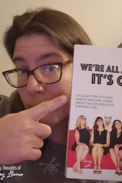 """We are all a little quirky, promise even the most """"normal"""" amongst us has a few little unique tics and habits. We're All a Mess, it's OK by Amy Lyle proves it!"""